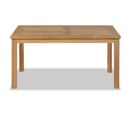 vidaXL Kavos staliukas, tikmedis, 90x50x45cm[2/6]