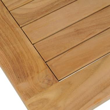 vidaXL Kavos staliukas, tikmedis, 90x50x45cm[4/6]