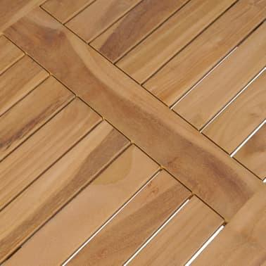 vidaXL Kavos staliukas, tikmedis, 90x50x45cm[5/6]