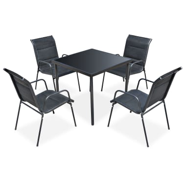 vidaXL Ensemble de salle à manger d