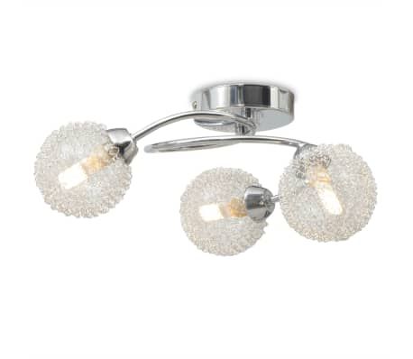 vidaXL Lubų šviestuvas su 3 G9 lemputėmis, 120 W[2/8]