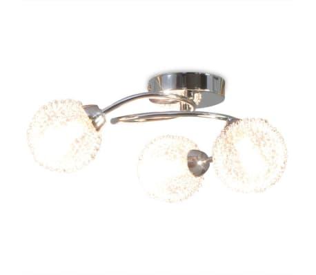 vidaXL Lubų šviestuvas su 3 G9 lemputėmis, 120 W[3/8]
