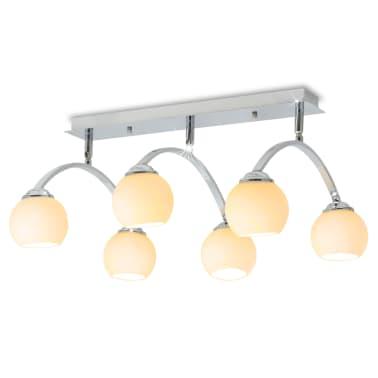 vidaXL Lámpara de techo con 6 bombillas LED G9 240 W[1/11]