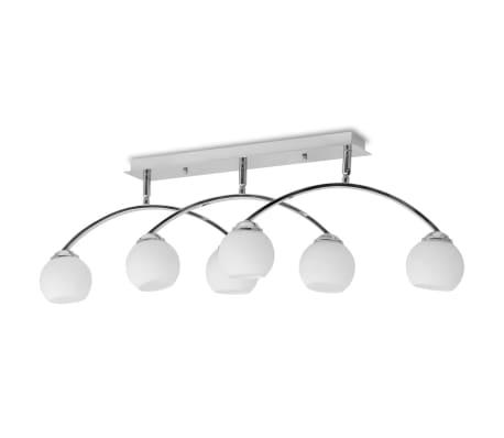 vidaXL Lámpara de techo con 6 bombillas LED G9 240 W[3/11]