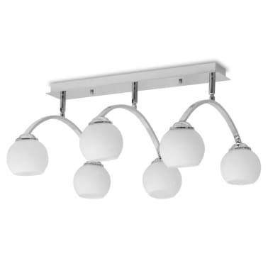 vidaXL Lámpara de techo con 6 bombillas LED G9 240 W[2/11]