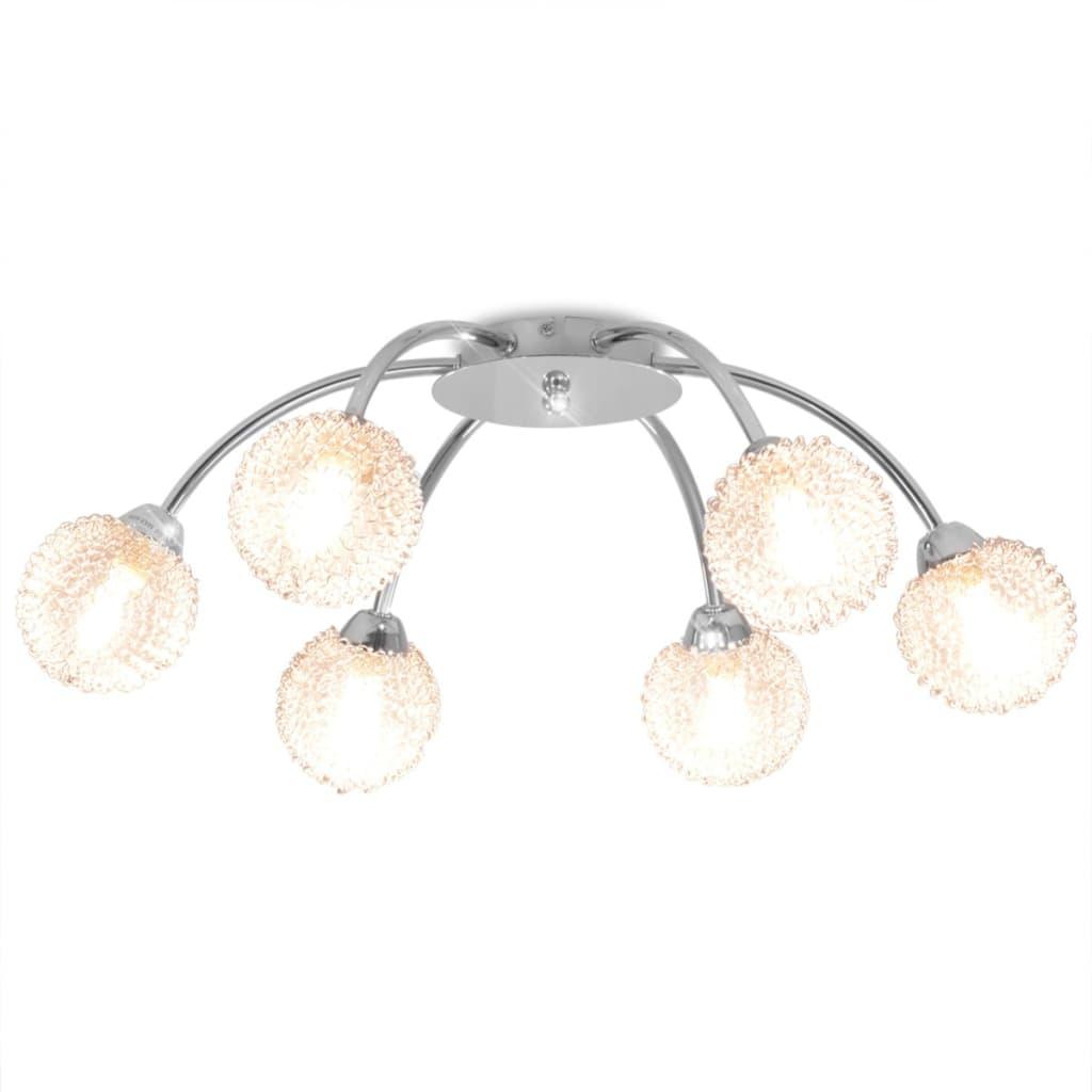 vidaXL Lustră cu 6 becuri LED G9 240 W poza vidaxl.ro