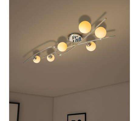 vidaXL Ceiling Lamp with 6 LED Bulbs G9 240 W[3/10]
