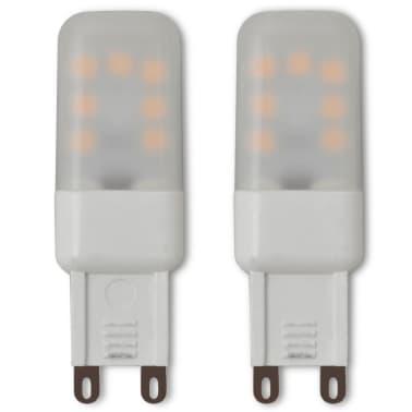vidaXL Ceiling Lamp with 6 LED Bulbs G9 240 W[8/10]