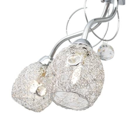 vidaXL Stropná lampa s 5 LED žiarovkami G9, 200 W[5/9]