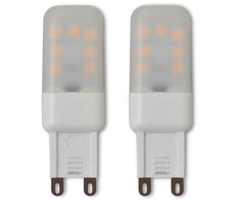 vidaXL Stropná lampa s 5 LED žiarovkami G9, 200 W[6/9]