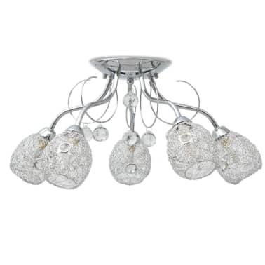 vidaXL Stropná lampa s 5 LED žiarovkami G9, 200 W[3/9]