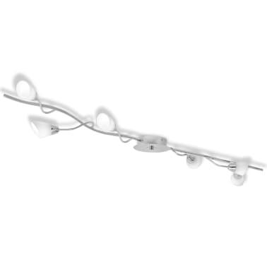 vidaXL Taklampe med 6 LED-pærer G9 240 W[2/9]