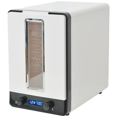 vidaXL Matdehydrator med 10 skuffer 550 W Hvit[6/7]