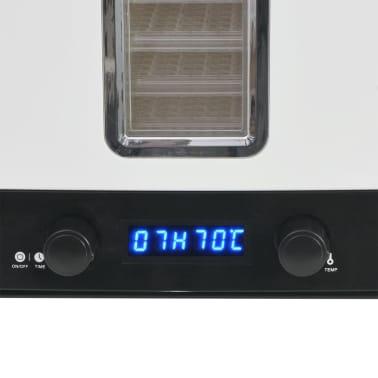 vidaXL Matdehydrator med 10 skuffer 550 W Hvit[7/7]