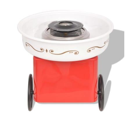 vidaXL Hattarakone pyörillä 480 W Punainen[3/8]