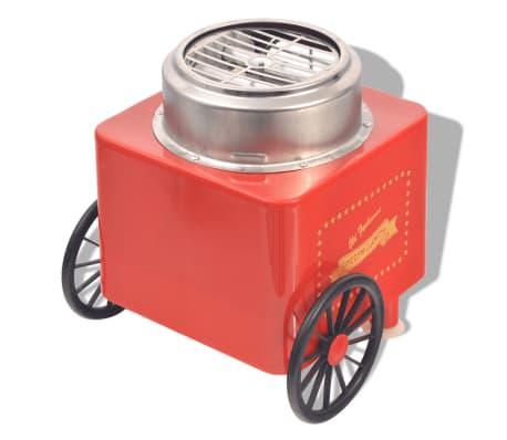 vidaXL Hattarakone pyörillä 480 W Punainen[4/8]