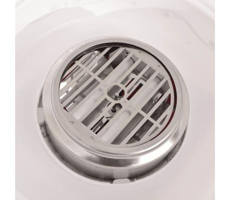 vidaXL Zuckerwattemaschine mit Rädern 480 W Rot[5/8]