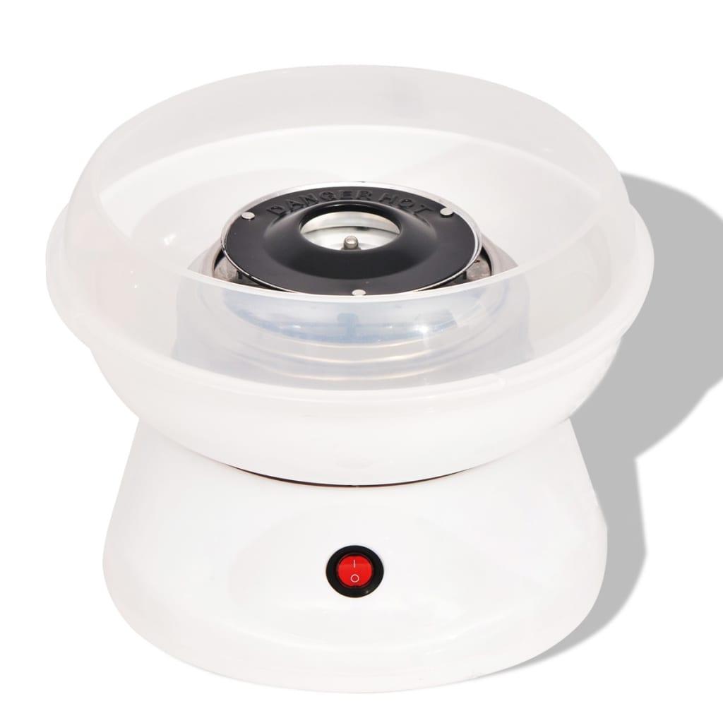 VidaXL Suikerspinmachine 480 W wit Nu voor 25.99 euro!