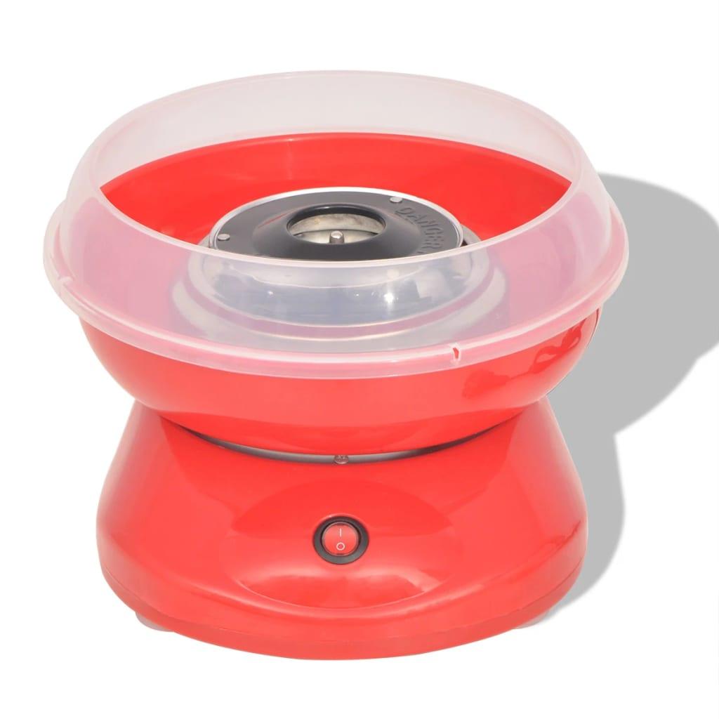 VidaXL Suikerspinmachine 480 W rood Nu voor 32.99 euro!
