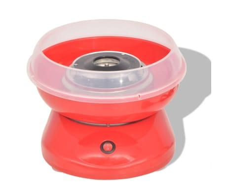 vidaXL Maszynka do waty cukrowej, 480 W, czerwona[2/7]