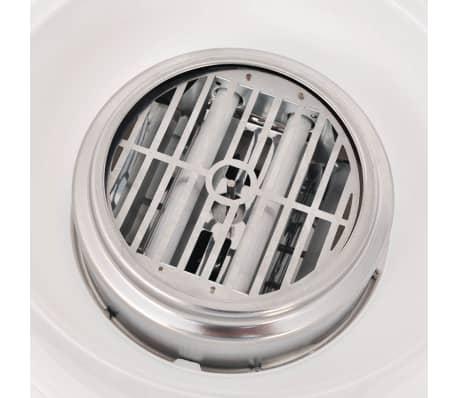 vidaXL Maszynka do waty cukrowej, 480 W, czerwona[6/7]