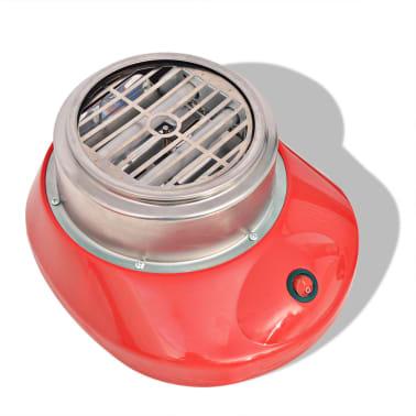 vidaXL Maszynka do waty cukrowej, 480 W, czerwona[4/7]