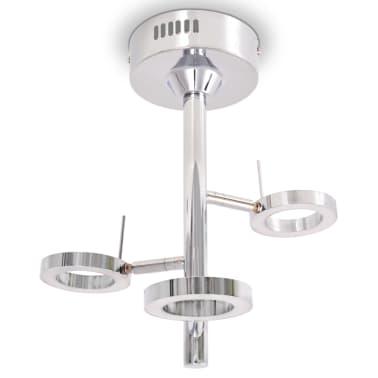 vidaXL LED-Deckenleuchte mit 3 Lampen Warmweiß[2/8]