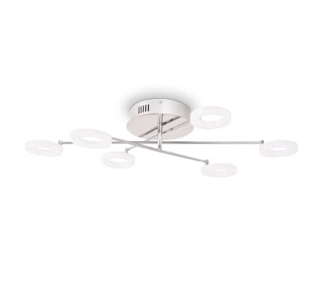 vidaXL LED lubų šviestuvas su 6 lemputėmis, šilta balta[2/8]
