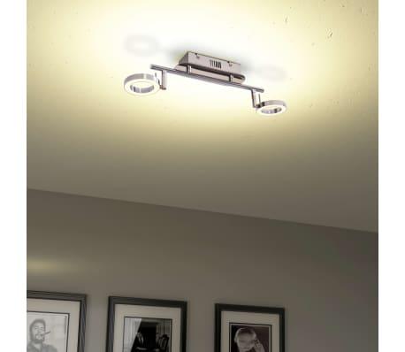 vidaXL LED-Deckenleuchte Wandleuchte mit 2 Lampen Warmweiß[4/15]