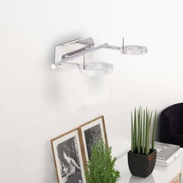 vidaXL LED-Deckenleuchte Wandleuchte mit 2 Lampen Warmweiß[3/15]