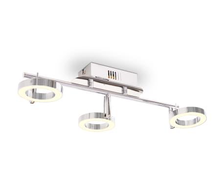 vidaXL LED-Deckenleuchte Wandleuchte mit 3 Lampen Warmweiß[1/15]