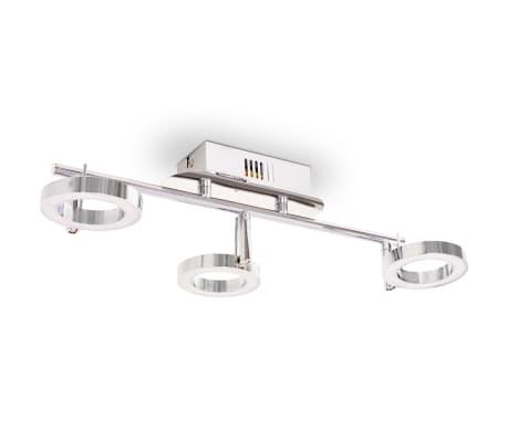 vidaXL LED-Deckenleuchte Wandleuchte mit 3 Lampen Warmweiß[5/15]