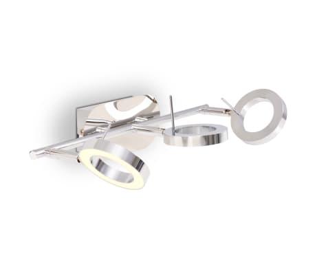 vidaXL LED-Deckenleuchte Wandleuchte mit 3 Lampen Warmweiß[6/15]