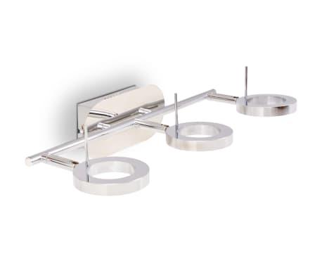 vidaXL LED-Deckenleuchte Wandleuchte mit 3 Lampen Warmweiß[9/15]