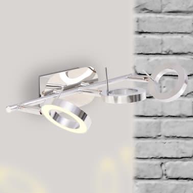 vidaXL LED-Deckenleuchte Wandleuchte mit 3 Lampen Warmweiß[2/15]