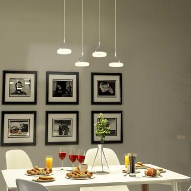 vidaXL Pakabinamas LED šviestuvas su 4 lemputėmis, šilta balta sp.[3/13]