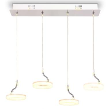 vidaXL Pakabinamas LED šviestuvas su 4 lemputėmis, šilta balta sp.[5/13]