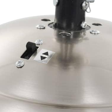 vidaXL Puošnus lubų ventiliatorius su šviesele, 128cm, baltas[9/14]