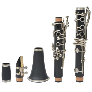 vidaXL Clarinet with Soft Case 17 Keys Bb[7/10]