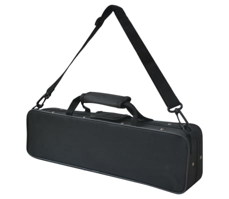 vidaXL Silver Flute with Soft Case 16 Holes[5/5]