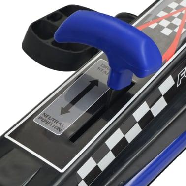 vidaXL Mașină Go Kart cu scaun reglabil, albastru[6/6]