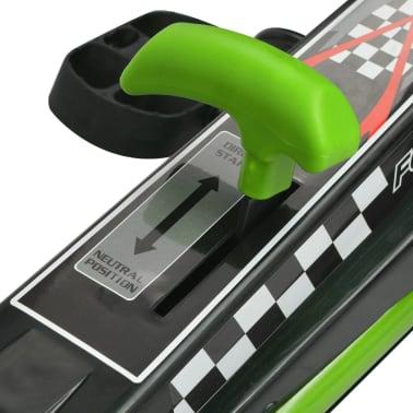 vidaX Kart cu pedale cu șezut reglabil verde[6/6]