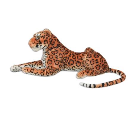 vidaXL rotaļu leopards, XXL, brūns plīšs[2/5]