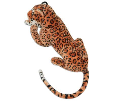 vidaXL rotaļu leopards, XXL, brūns plīšs[3/5]