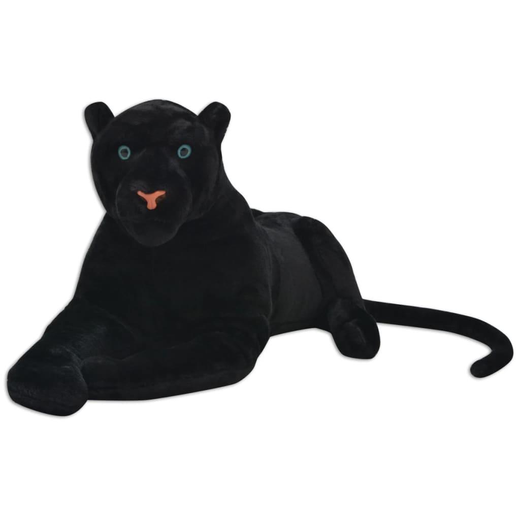 Panter plyšová hračka černý XXL