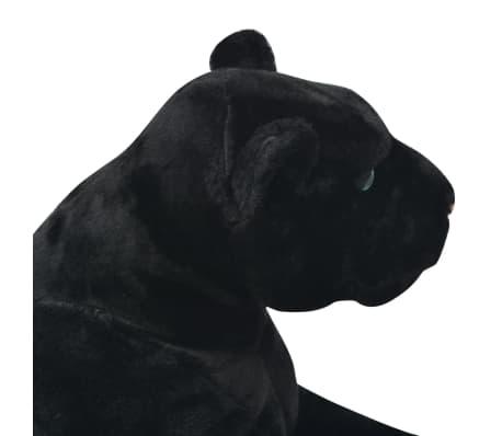 vidaXL Pluszowa pantera XXL czarna[4/5]