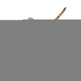 vidaXL Plišasta preproga leopard 139 cm rjave barve