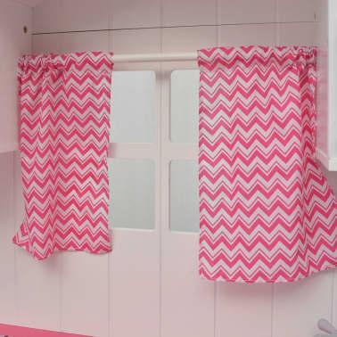 vidaXL Κουζίνα Παιδική Ροζ και Λευκή 82 x 30 x 100 εκ. Ξύλινη[4/7]