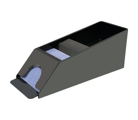 vidaXL Pokerio/Blackjack rinkinys su 600 žetonais su vertėmis, aliuminis[2/7]