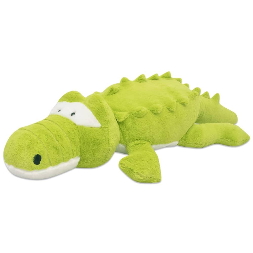 vidaXL Plyšová hračka krokodýl XXL 150 cm